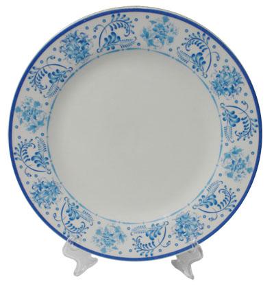 тарелка сублимация для фото Гжель