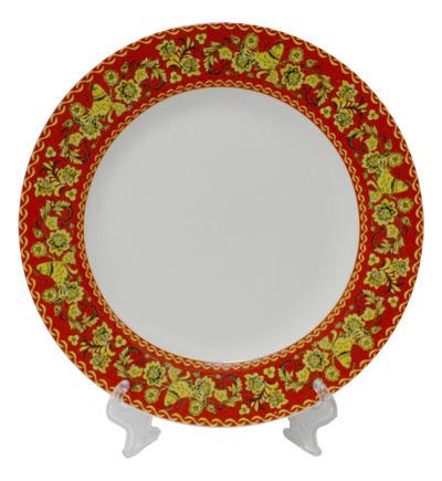 тарелка сублимация с фото Хохлома
